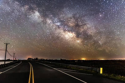 Photograph - Road To Milky Way by Russell Pugh