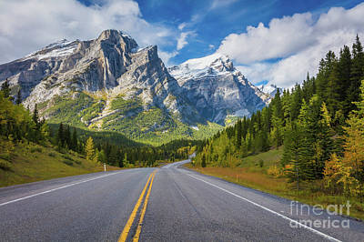 Photograph - Road To Mount Kidd by Inge Johnsson