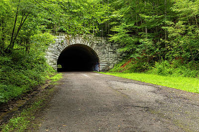 Spot Of Tea Royalty Free Images - Road To Nowhere Tunnel 12 Royalty-Free Image by John Brueske