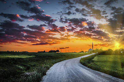 Photograph - Road To Sunset by Okan YILMAZ