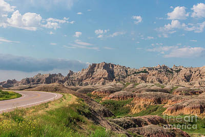 Photograph - Road To The Badlands by Sheila Skogen
