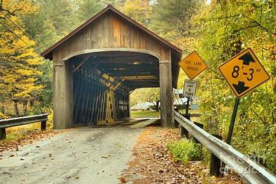 Photograph - Road To The Coombs Covered Bridge by Adam Jewell