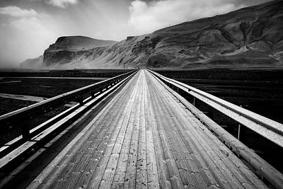 Photograph - Road To Vik by Dave Bowman