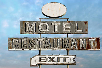 Roadside Motel - Vintage Neon Sign Original