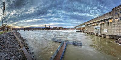 Photograph - Roaring River Below Chickamauga Dam by Steven Llorca