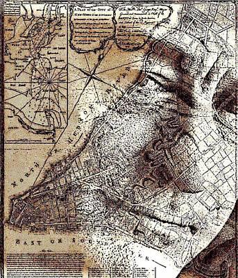Digital Art - Robert De Niro by Jayime Jean