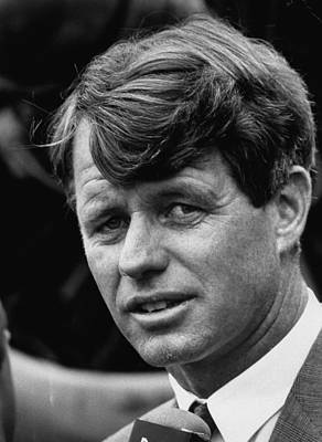Photograph - Robert F. Kennedy by Loomis Dean