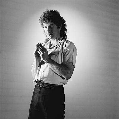 Photograph - Robert Plant by Fin Costello