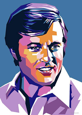 Royalty-Free and Rights-Managed Images - Robert Redford pop art by Stars on Art