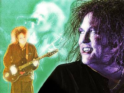 Digital Art - Robert Smith by Mark Baranowski