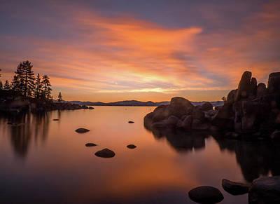 Photograph - Rock Balance by Martin Gollery