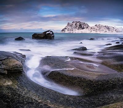Photograph - Rock Circle - Panorama by Michael Blanchette