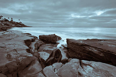 Photograph - Rock Coastal by Peter Tellone