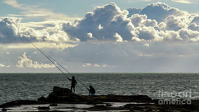 Photograph - Rock Fishing by Pablo Avanzini