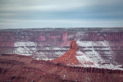 Photograph - Rock Formation At Dead Horse Point by Jeanette Fellows
