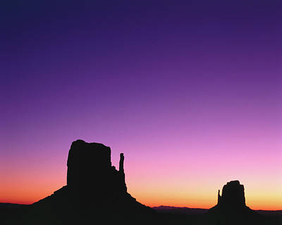 Photograph - Rock Formations In Sunset, Monument by Adina Tovy