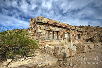 Photograph - Rock House by Joe Sparks