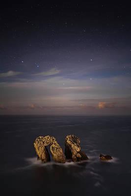 Photograph - Rock In Cantabrian Sea by Martin Zalba