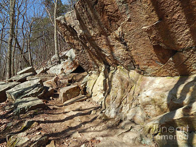 Photograph - Rock Ledge by Phil Perkins
