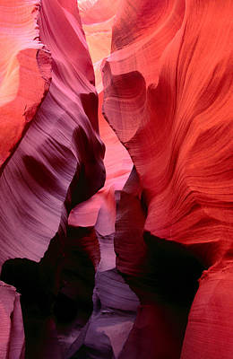 Arizona Photograph - Rock Shapes Of Lower Antelope Canyon by Mark  Newman