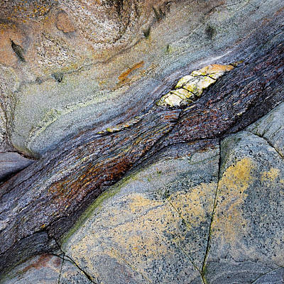 Photograph - Rock Study No1 by Dave Bowman