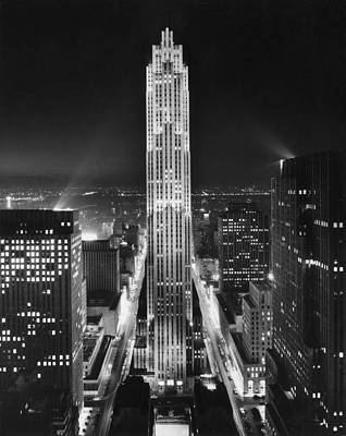 Photograph - Rockefeller Center by George Enell