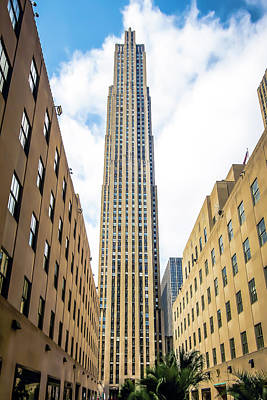 Photograph - Rockefeller Center In The Afternoon by Max Huber