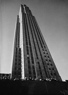 Photograph - Rockefeller Center by Margaret Bourke-white