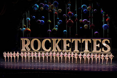 Bicycle Graphics - Rockettes at Radio City Music Hall in New York City by Carl Purcell