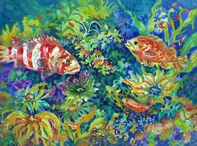 Painting - Rockfish by Ann Nicholson