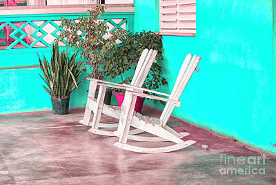 Royalty-Free and Rights-Managed Images - Rocking chairs by Patricia Hofmeester