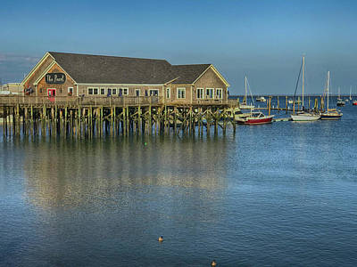 Photograph - Rockland Harbor  by Pamela Hodgdon