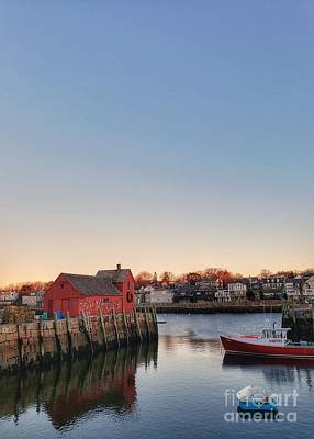 Photograph - Rockport Massachusetts  by Mary Capriole