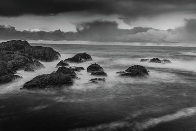 Photograph - Rocks In The Storm by Kai Mueller