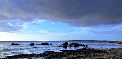 Photograph - Rocks Of The Point by Joan Stratton