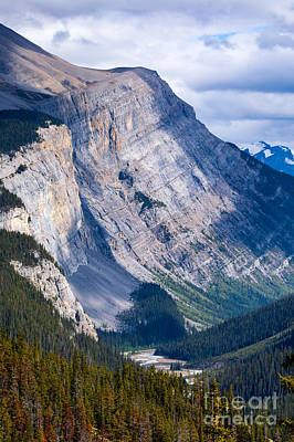 Photograph - Rockslide by Alma Danison