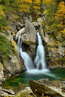 Photograph - Rocky Bash Bish Falls by Adam Jewell