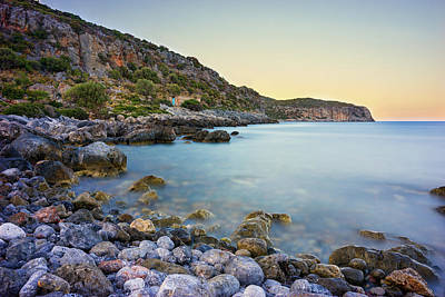 Photograph - Rocky Coast Near Monemvasia by Milan Ljubisavljevic