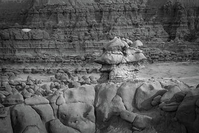 Photograph - Rocky Desert Formation by Kyle Lee