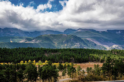 Photograph - Rocky Foothills by James L Bartlett