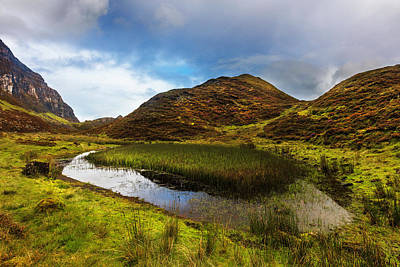 Photograph - Rocky High Mountain Pools Of Scotland by Debra and Dave Vanderlaan