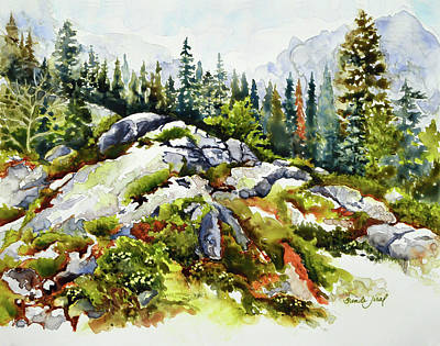 Painting - Rocky Hill by Brenda Jiral