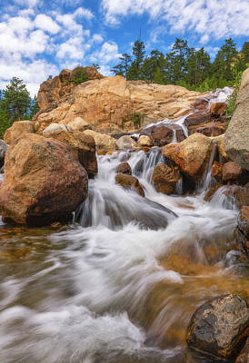 Royalty-Free and Rights-Managed Images - Rocky Mountain Flow by Darren White