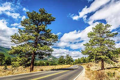 Photograph - Rocky Mountain Highway by James L Bartlett