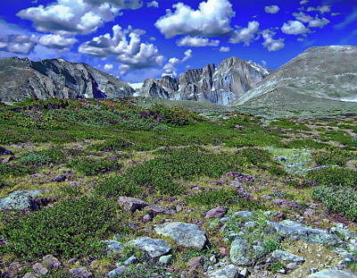 Photograph - Rocky Mountain National Park by Anthony Dezenzio