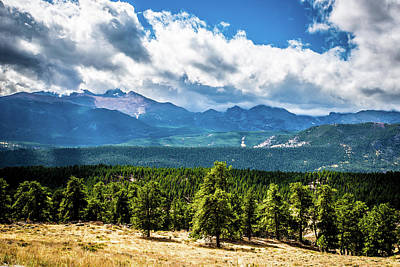 Photograph - Rocky Mountain Np I by James L Bartlett