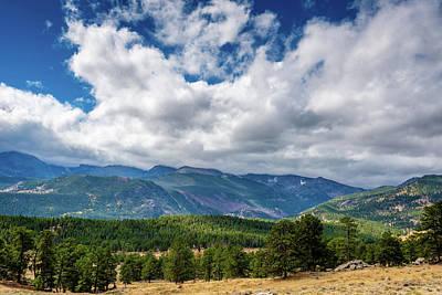 Photograph - Rocky Mountain Np II by James L Bartlett