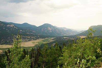 Photograph - Rocky Mountain Overlook by Nicole Lloyd