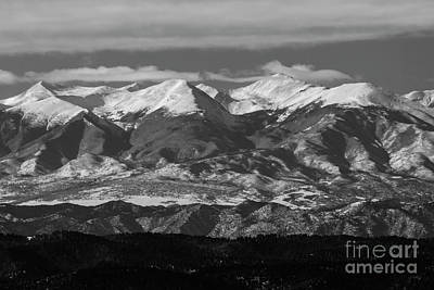 Steven Krull Royalty-Free and Rights-Managed Images - Rocky Mountain Winter by Steven Krull