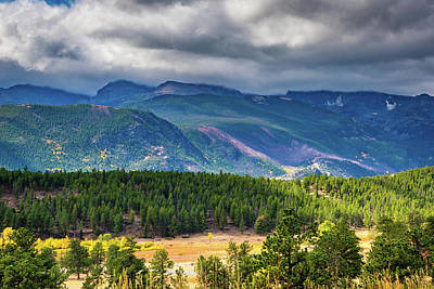 Photograph - Rocky Mountains - Green by James L Bartlett